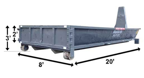Image of CWS 10-Yard Dumpster