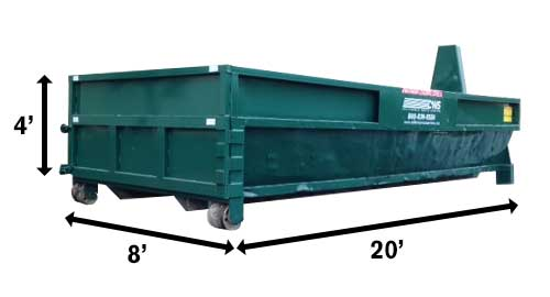 Image of CWS 20-Yard Dumpster