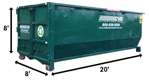 Image of CWS 40-Yard Dumpster