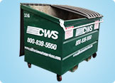 Image of CWS 3-Yard Dumpster